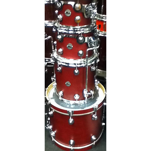 used dw collector 39 s series drum kit satin cherry guitar center. Black Bedroom Furniture Sets. Home Design Ideas