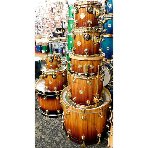 Used Dw Collector S Series Exotic Drum Kit Guitar Center