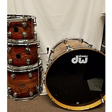 DW Collector's Series Exotic ZEBRAWOOD Drum Kit