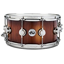 Collector's Series Pure Almond Snare Drum with Nickel Hardware, Toasted Almond Burst 14 x 6 in.