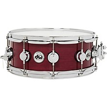 Collector's Series Purpleheart Lacquer Custom Snare Drum with Chrome Hardware 14 x 5.5 in.