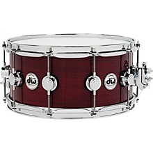 Collector's Series Purpleheart Lacquer Custom Snare Drum with Chrome Hardware 14 x 6.5 in.