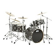 Collector's Series Satin Oil 5-Piece Shell Pack Ebony Chrome Hardware