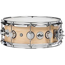 Collector's Series Satin Oil Snare Drum 14 x 5 in. Natural with Chrome Hardware