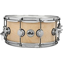 Collector's Series Satin Oil Snare Drum 14 x 6 in. Natural with Chrome Hardware