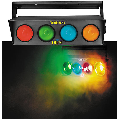 CHAUVET DJ Color Bank 4-Color Sound-Activated Light