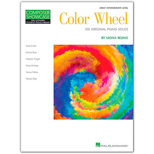 Hal Leonard Color Wheel - Composer Showcase - 6 Original Piano Solos For Early Intermediate Level