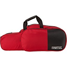 Colors Series Lightweight Polyfoam Alto Saxophone Case Red