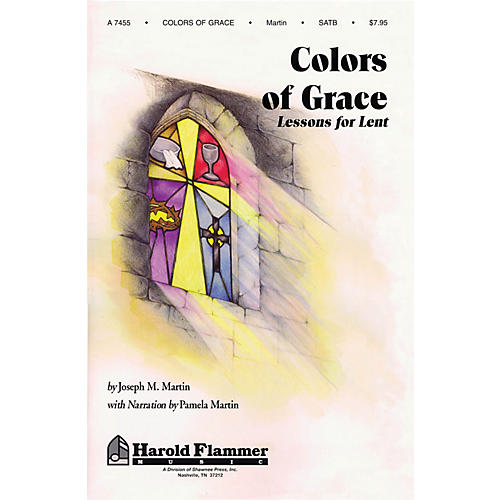 Shawnee Press Colors of Grace (Lessons for Lent) Studiotrax CD Composed by Joseph M. Martin