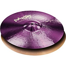 Colorsound 900 Heavy Hi Hat Cymbal Purple 14 in. Top
