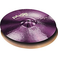 Colorsound 900 Heavy Hi Hat Cymbal Purple 15 in. Pair
