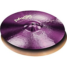 Colorsound 900 Heavy Hi Hat Cymbal Purple 15 in. Top