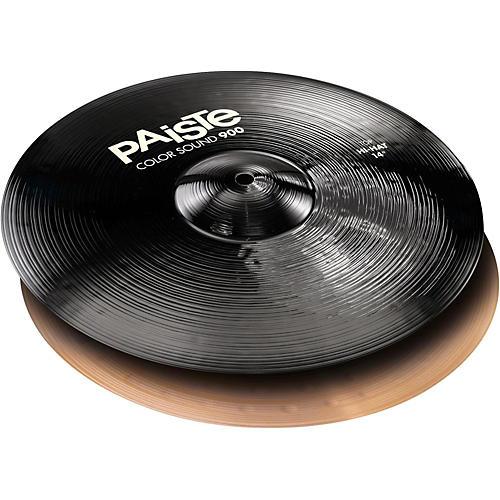 Paiste Colorsound 900 Hi Hat Cymbal Black