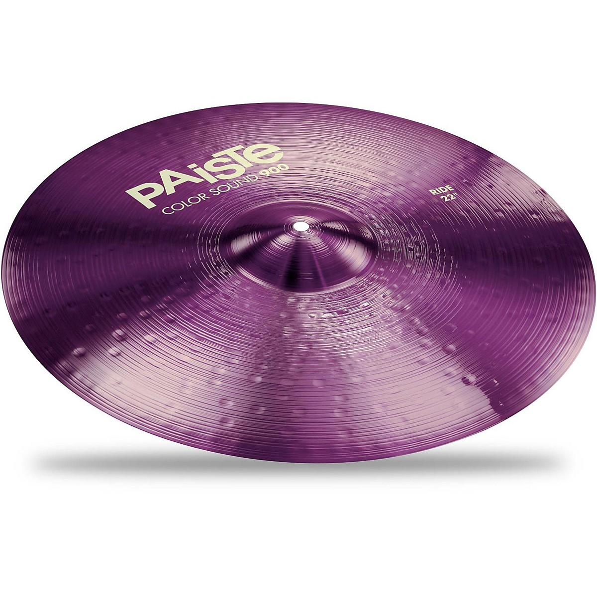 Paiste Colorsound 900 Ride Cymbal Purple