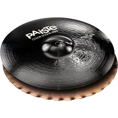 Paiste Colorsound 900 Sound Edge Hi Hat Cymbal Black