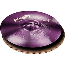 Colorsound 900 Sound Edge Hi Hat Cymbal Purple 14 in. Top