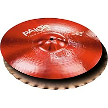 Colorsound 900 Sound Edge Hi Hat Cymbal Red 14 in. Top