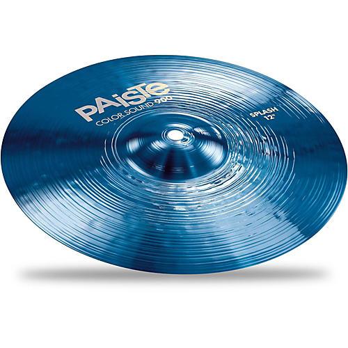 Paiste Colorsound 900 Splash Cymbal Blue
