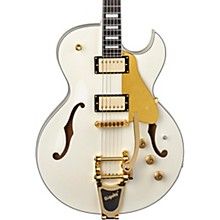 Colt with Bigsby & Piezo Semi-Hollowbody Guitar Vintage White