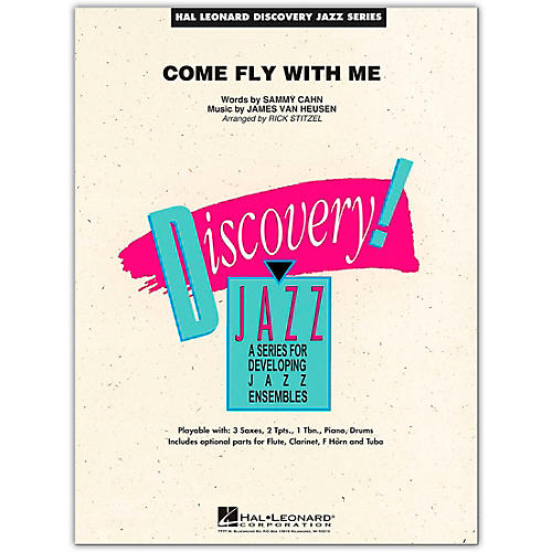 Hal Leonard Come Fly With Me - Discovery Jazz Series Level 1.5 Book/Online Audio