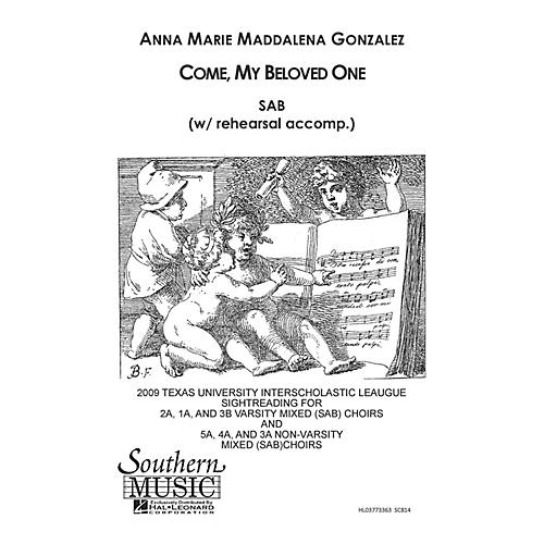 Southern Come My Beloved SAB Composed by Anna Marie Gonzalez