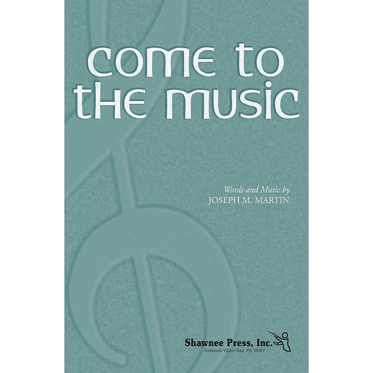 Shawnee Press Come to the Music TTBB composed by Joseph M. Martin