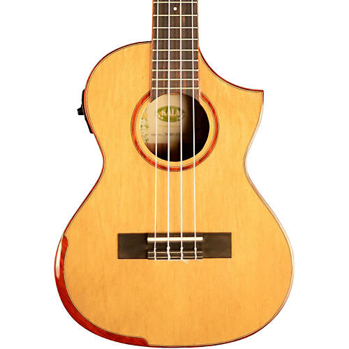 Kala Comfort Edge Tenor Ukulele with EQ and Florentine Cutaway