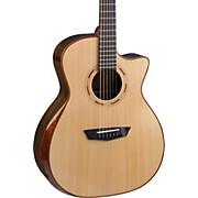 Comfort Series Grand Auditorium Acoustic-Electric Guitar Natural