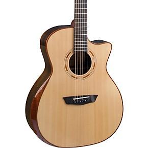 washburn comfort series grand auditorium acoustic electric guitar natural guitar center. Black Bedroom Furniture Sets. Home Design Ideas