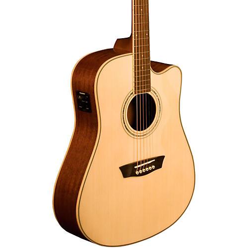 washburn comfort series wcd18ce acoustic electric guitar guitar center. Black Bedroom Furniture Sets. Home Design Ideas