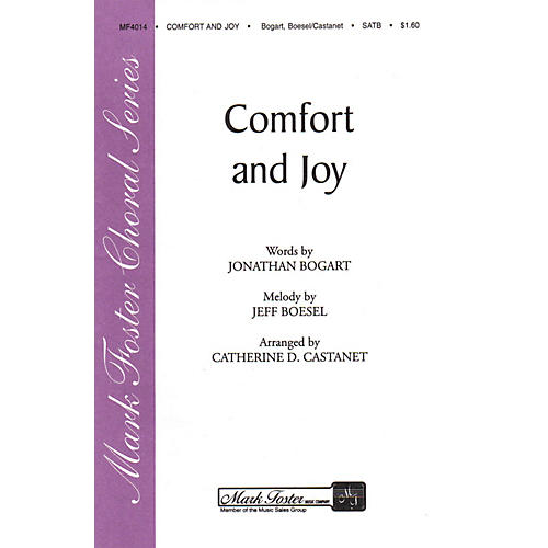 Shawnee Press Comfort and Joy SATB a cappella arranged by Catharine D. Castanet