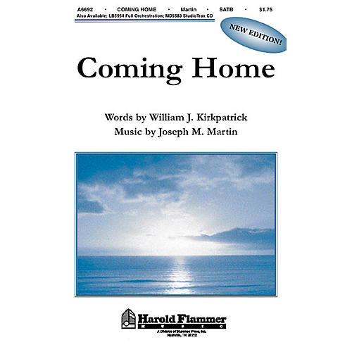 Shawnee Press Coming Home (from Legacy of Faith) SATB composed by Joseph M. Martin