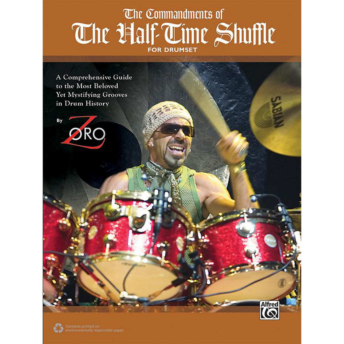 Alfred Commandments of the Half-Time Shuffle by Zoro Drum Book