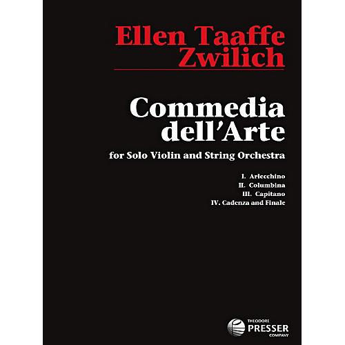 Theodore Presser Commedia Dell'Arte (Book)