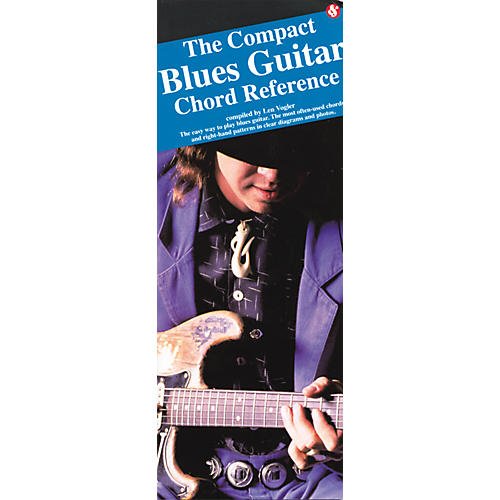 Music Sales Compact Blues Guitar Chord Reference