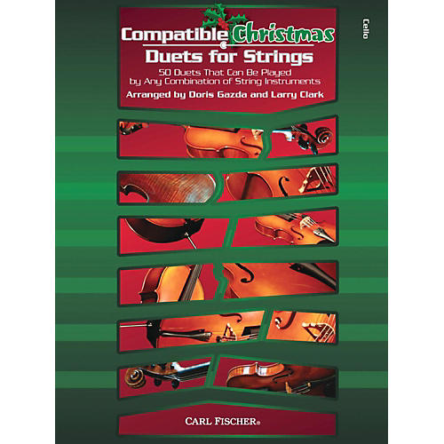 Carl Fischer Compatible Christmas Duets for Strings: Cello