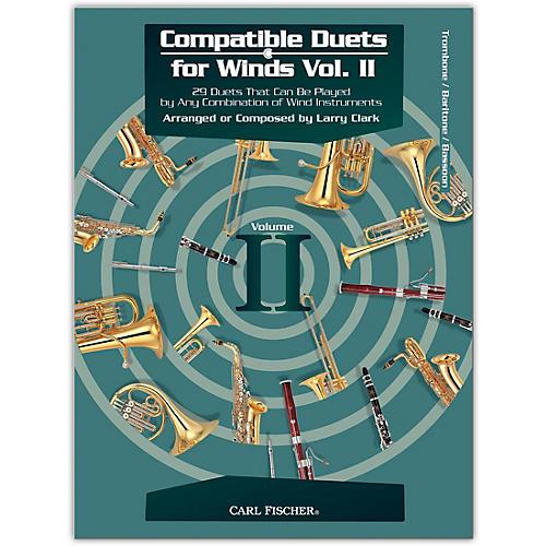 Carl Fischer Compatible Duets for Winds Volume II - Trombone, Bassoon, Euphonium