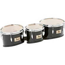 Pearl Competitor Marching Tom Set Level 1 Midnight Black (#46) 8,10,12 set