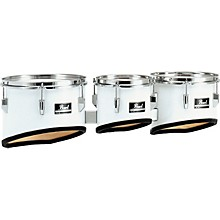 Pearl Competitor Marching Tom Set Level 1 Pure White (#33) 8,10,12 set