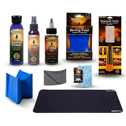 Music Nomad Complete 9-Piece Premium Guitar Care Kit