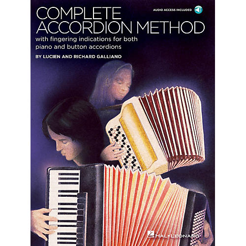 Hal Leonard Complete Accordion Method (Book/Audio Online)