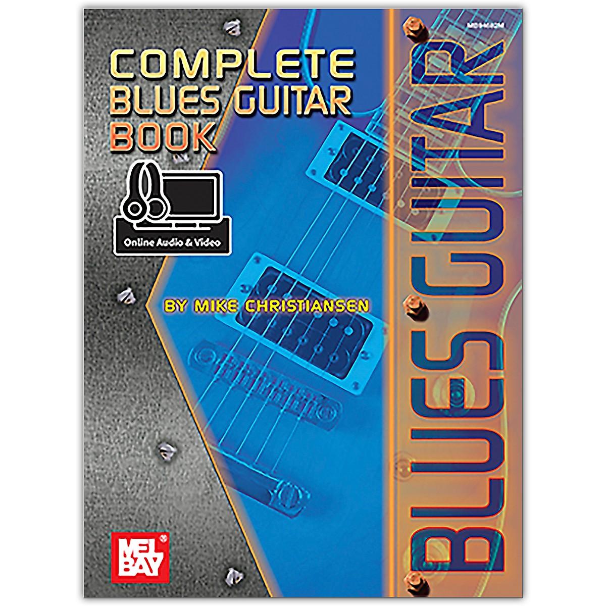 Mel Bay Complete Blues Guitar Book (Book + Online Audio/Video)