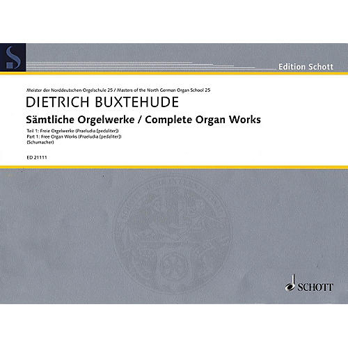 Schott Complete Organ Works Organ Collection Series Softcover