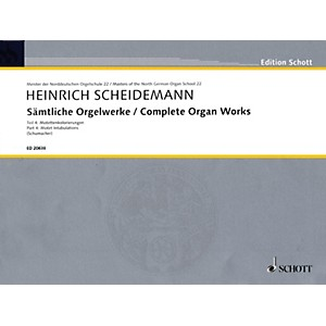 Schott Complete Organ Works Organ Collection Series Softcover by Schott
