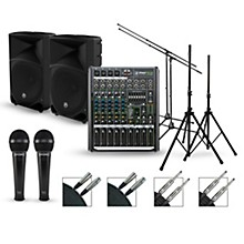 Mackie Complete PA Package with ProFX8v2 Mixer and Mackie Thump Series Speakers