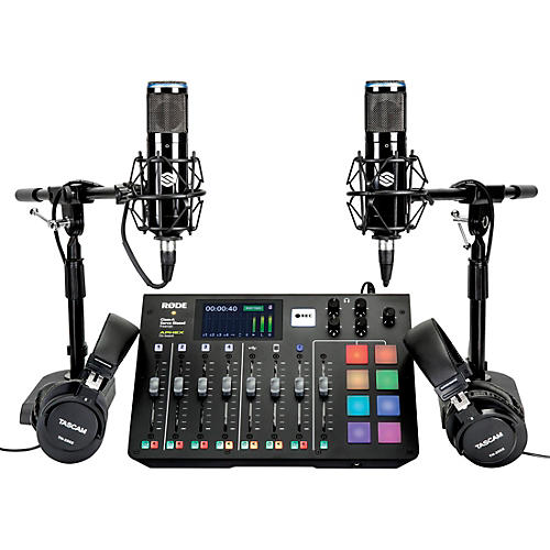 Rode Microphones Complete Podcaster Recording Bundle