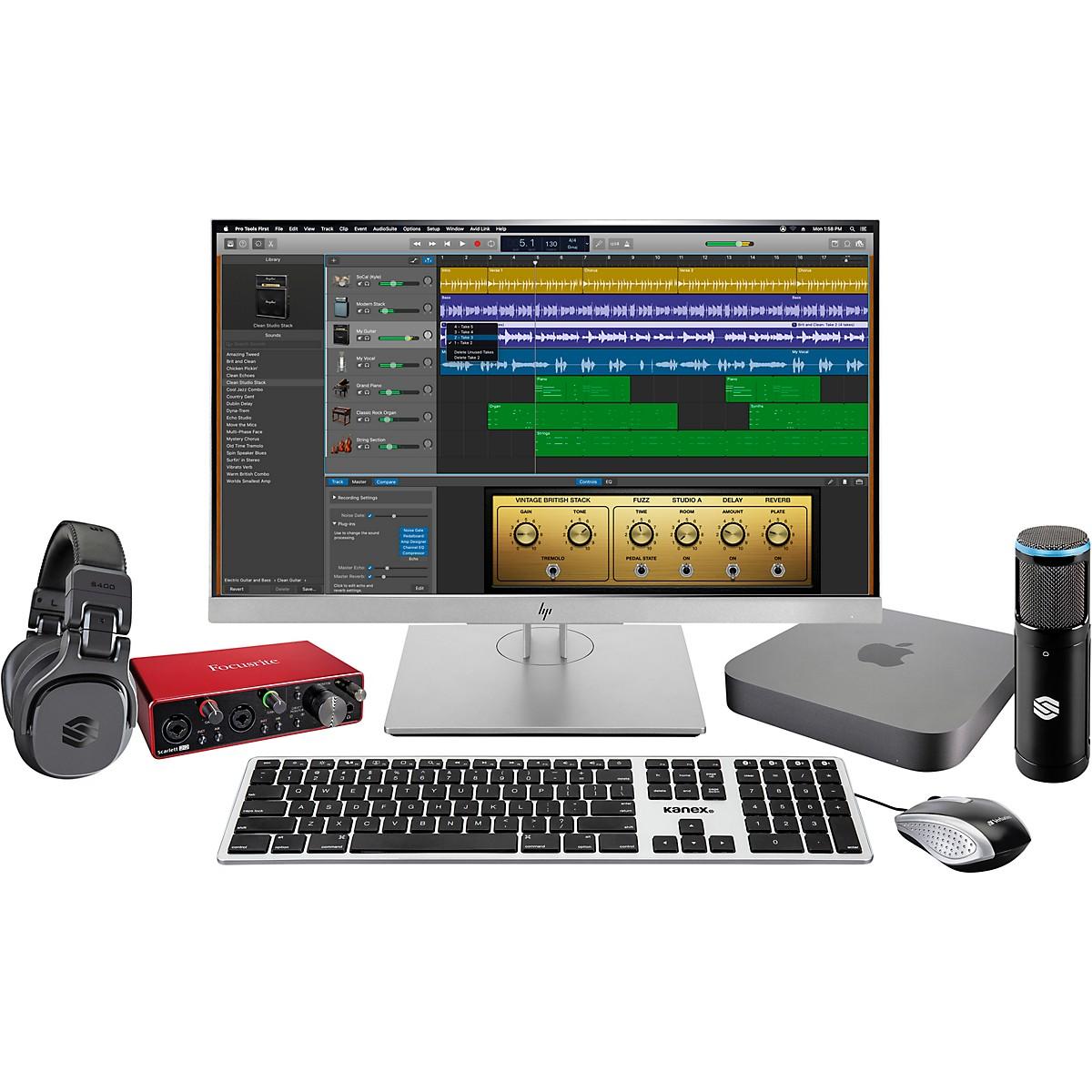 Apple Complete Recording Studio with Mac Mini v9 (2019 Mac Mini CTO)
