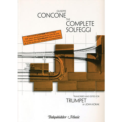 Carl Fischer Complete Solfeggi for Trumpet  Book
