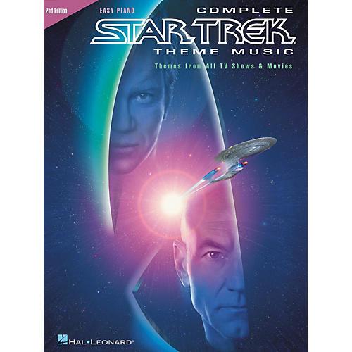 Hal Leonard Complete Star Trek Theme Music For Easy Piano