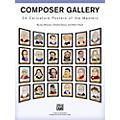 Alfred Composer Gallery: 24 Caricature Posters of the Masters thumbnail
